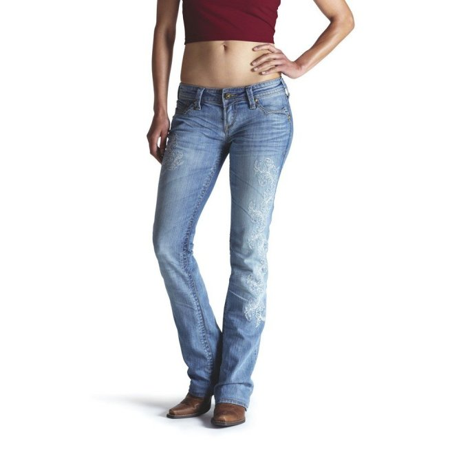 10009426 Women's Ariat Ruby Trellis Calamity Stretch Jean